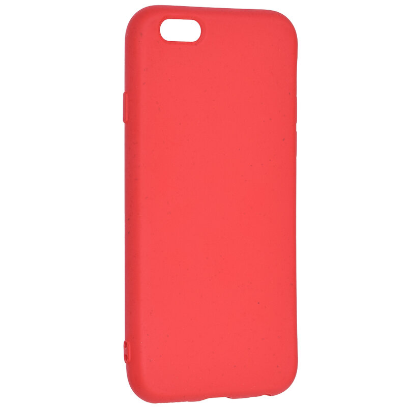 Husa iPhone 6 / 6S Forcell Bio Zero Waste Eco Friendly - Rosu