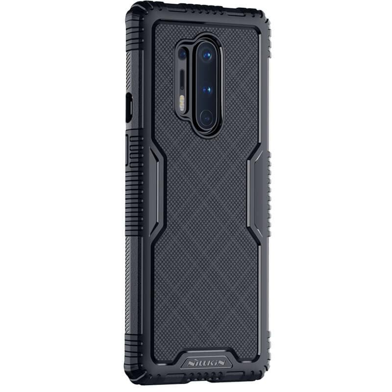 Husa OnePlus 8 Pro Nillkin Tactics Rich TPU Protection - Negru