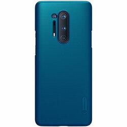Husa OnePlus 8 Pro Nillkin Super Frosted Shield - Blue