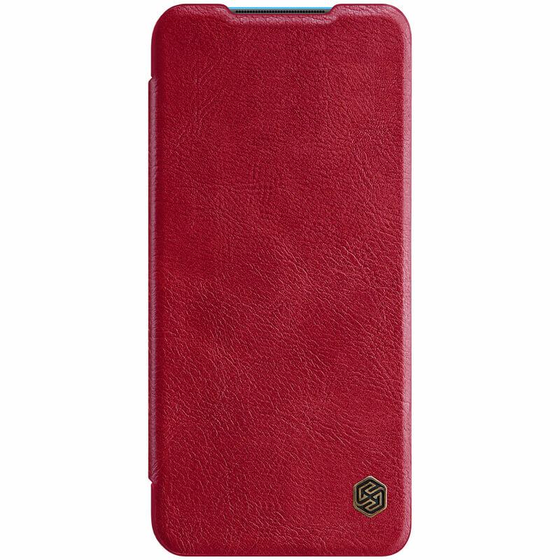 Husa Xiaomi Mi 10 Lite Nillkin QIN Leather - Rosu