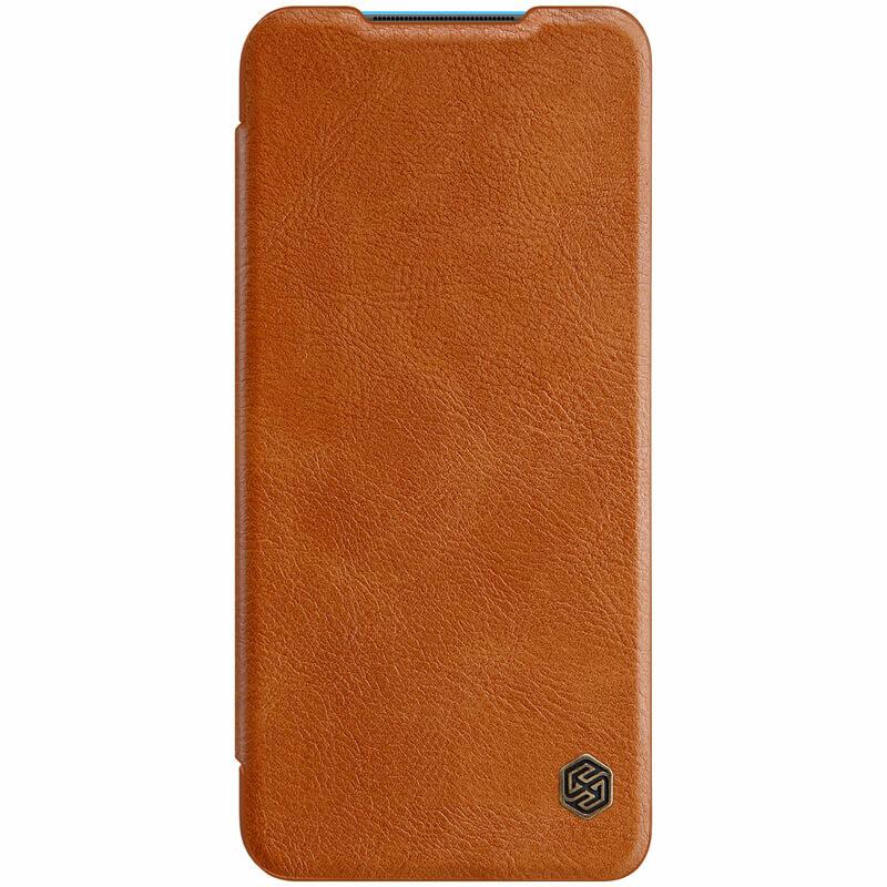 Husa Xiaomi Mi 10 Lite Nillkin QIN Leather - Maro