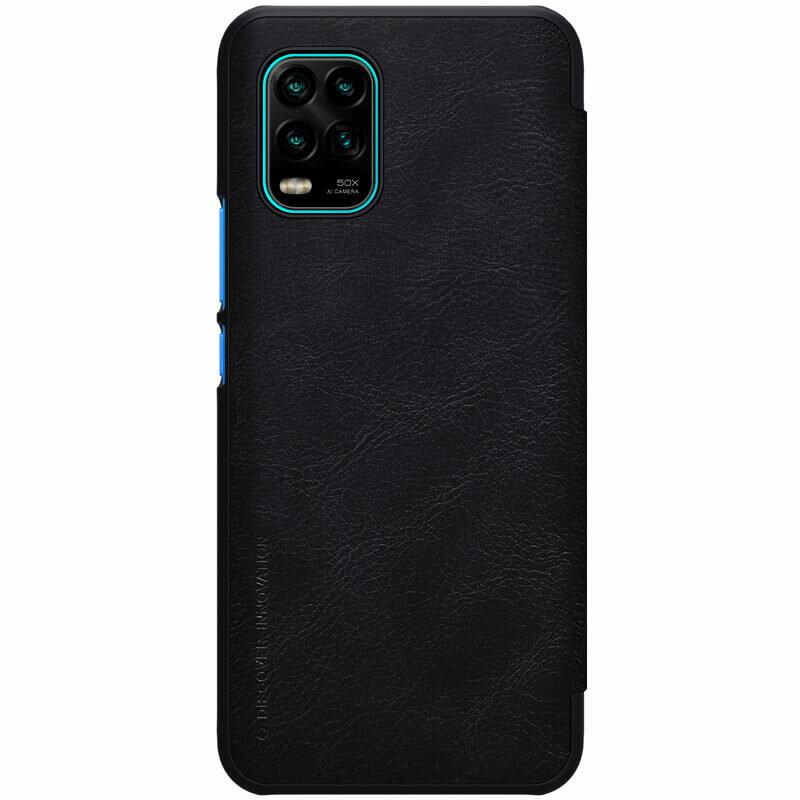 Husa Xiaomi Mi 10 Lite Nillkin QIN Leather - Negru