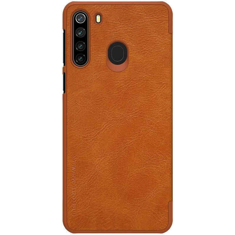 Husa Samsung Galaxy A21 Nillkin QIN Leather - Maro