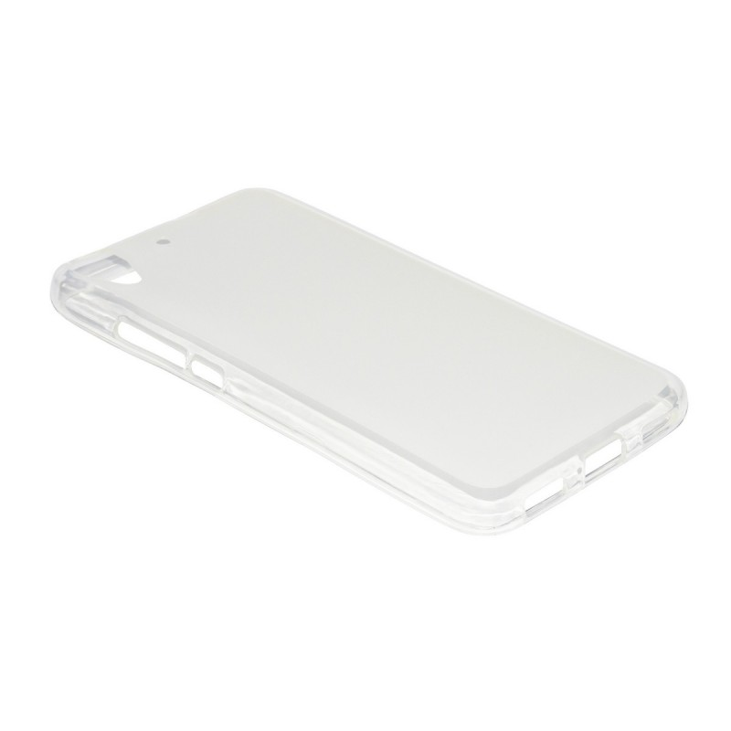 Husa Huawei Y6 4G / Orange Dive 70 TPU Alb Transparent