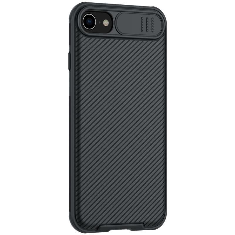 Husa iPhone 7 Nillkin CamShield Pro Cu Protectie Pentru Camera - Negru