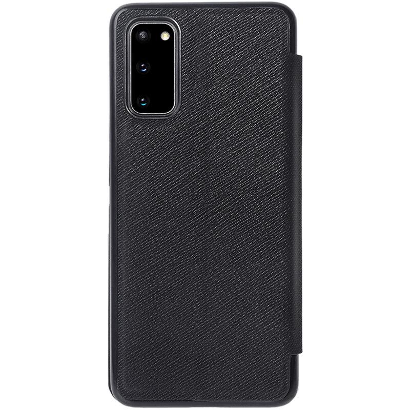 Husa Samsung Galaxy S20 5G Nillkin Ming Leather Flip Tip Carte - Negru