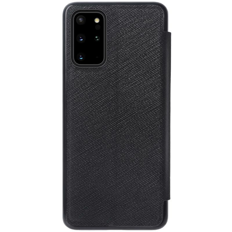 Husa Samsung Galaxy S20 Plus Nillkin Ming Leather Flip Tip Carte - Negru