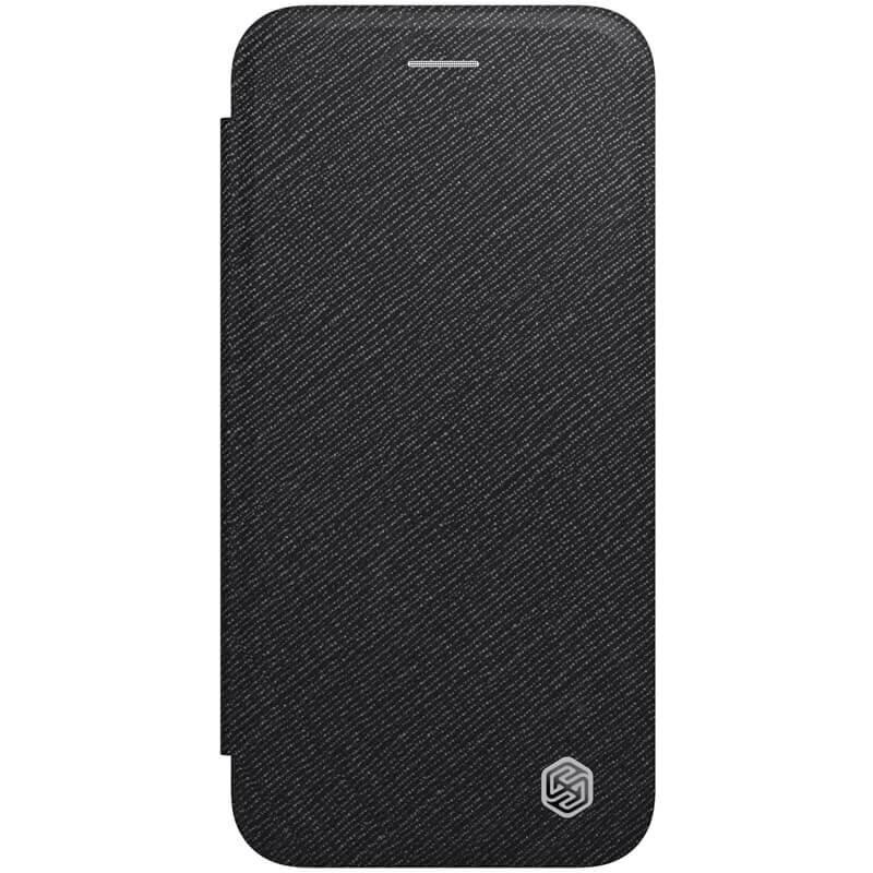 Husa iPhone 7 Nillkin Ming Leather Flip Tip Carte - Negru