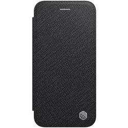 Husa iPhone 8 Nillkin Ming Leather Flip Tip Carte - Negru