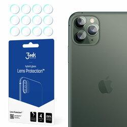 [Pachet 4x] Sticla flexibila camera iPhone 11 Pro Max 3MK- Clear