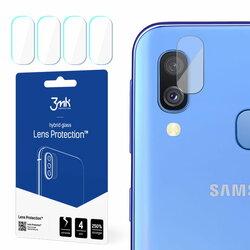 [Pachet 4x] Sticla flexibila camera Samsung Galaxy A40 3MK Lens - Clear