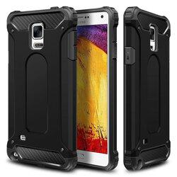 Husa Samsung Galaxy Note 4 N910 Hybrid Armor - Negru