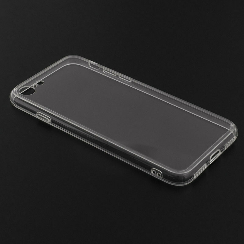 Husa iPhone SE 2, SE 2020 TPU UltraSlim - Transparent