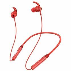 Casti In-Ear Nillkin Soulmate E4 Wireless Cu Bluetooth Si Suport Pentru Gat - Rosu
