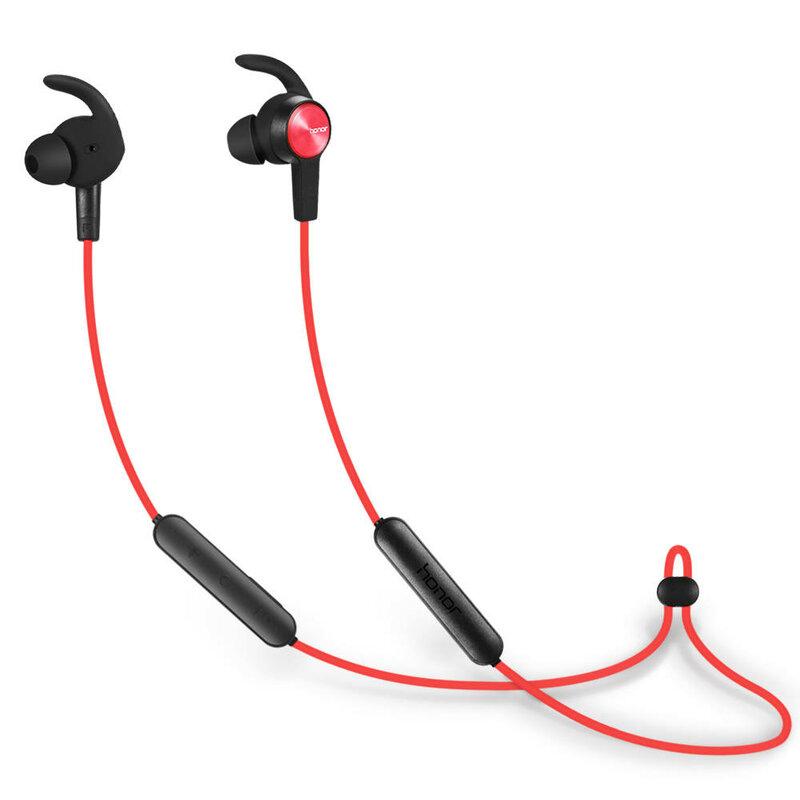 Casti In-Ear Originale Huawei AM61 Sport Wireless cu Bluetooth - Rosu