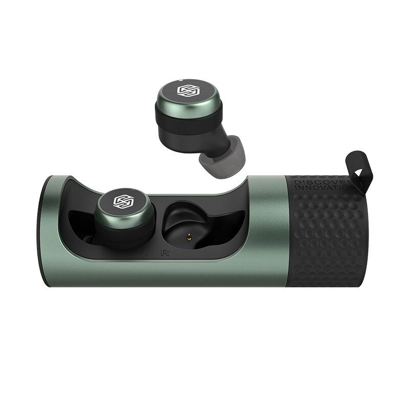 Casti In-Ear Nillkin Go TW004 True Wireless Cu Statie De Incarcare - Verde