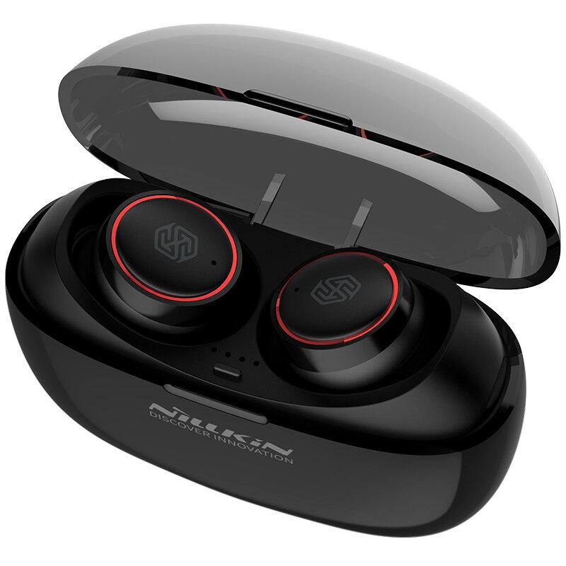 Casti In-Ear Nillkin Liberty Pro True Wireless Cu Statie De Incarcare - Rosu
