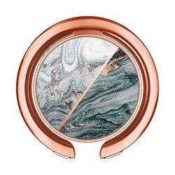 Suport iRing Spigen Ciel By Cyrill Kickstand Universal Cu Adeziv 3M Pentru Telefon - Classic Marble