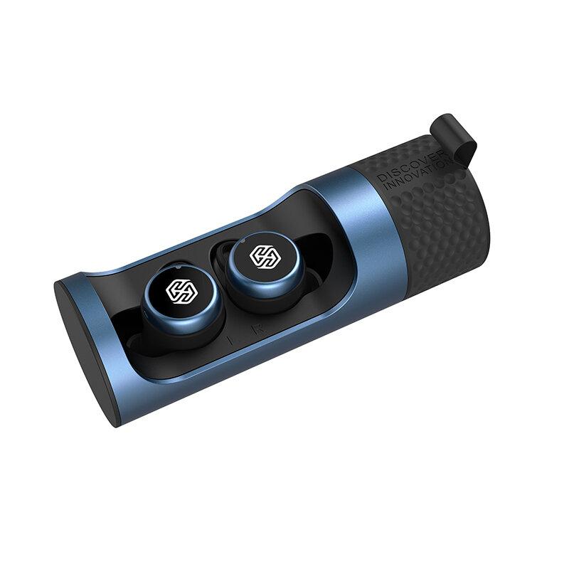 Casti In-Ear Nillkin Go TW004 True Wireless Cu Statie De Incarcare - Albastru