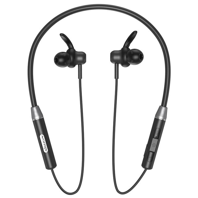 Casti In-Ear Nillkin Soulmate E4 Wireless Cu Bluetooth Si Suport Pentru Gat - Negru
