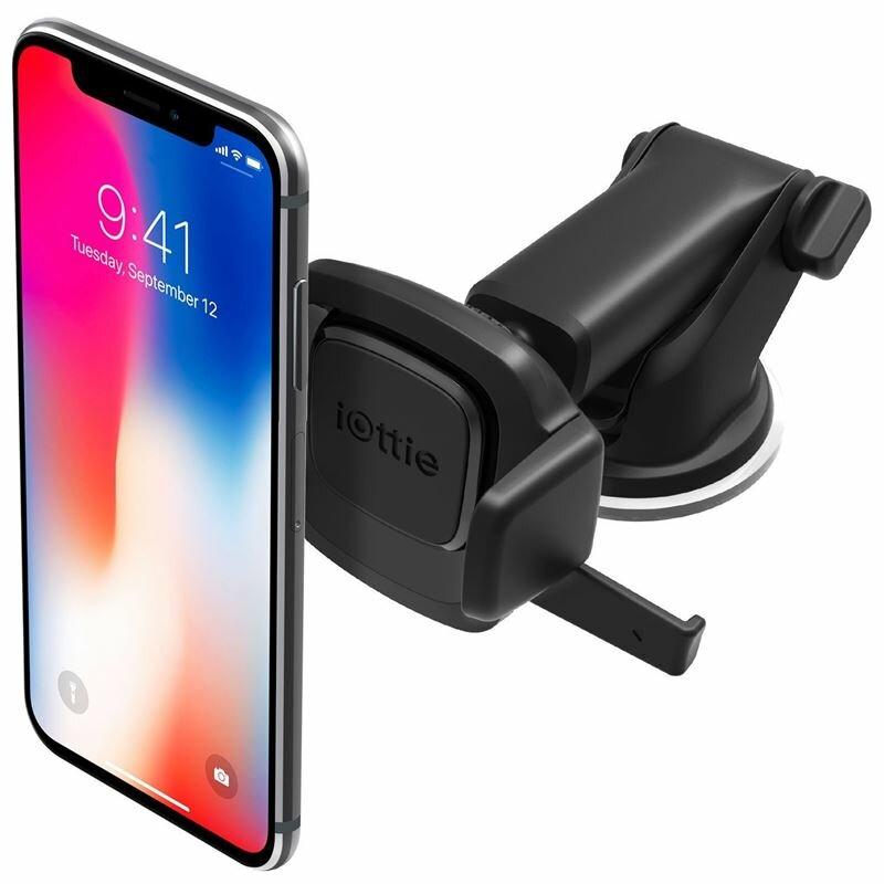 Suport Auto IOttie Easy One Touch Mini Universal Telescopic Pentru Telefon - Negru