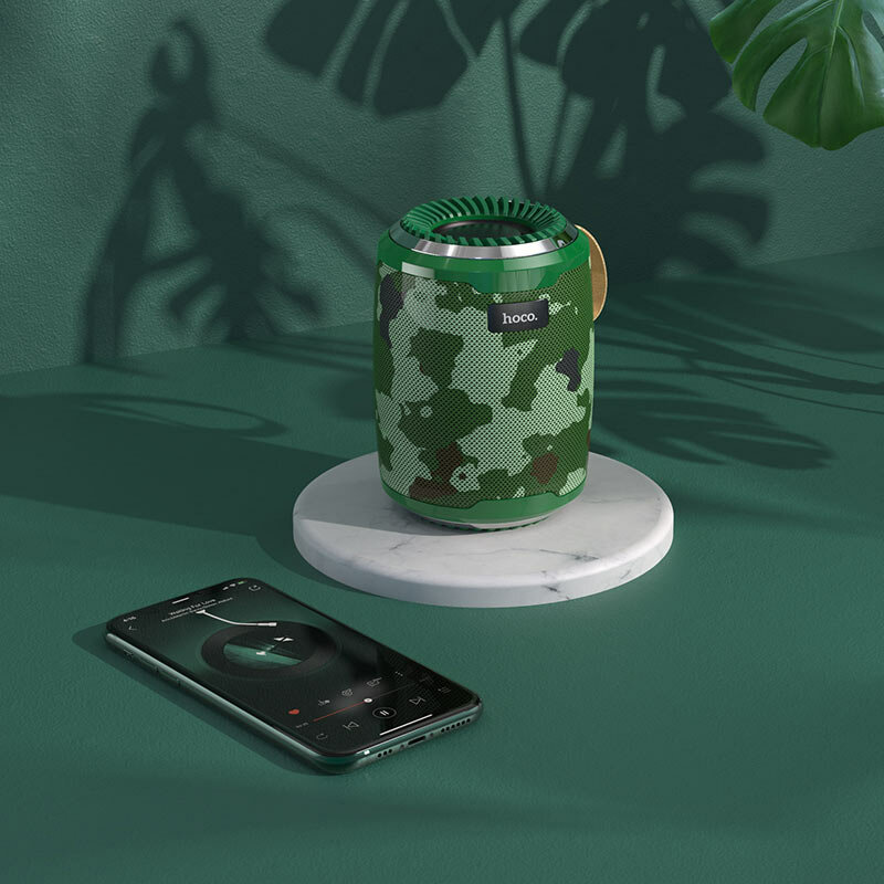 Boxa Portabila Hoco BS39 Cool Freedom Bluetooth Wireless - Camuflaj