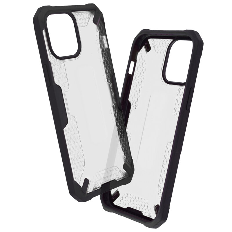Husa iPhone 12 Pro Max Mobster Decoil Series - Clear