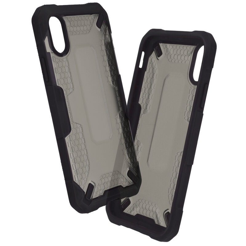 Husa iPhone XS Mobster Decoil Series - Negru