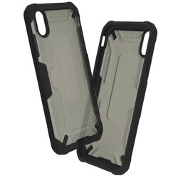 Husa iPhone XS Max Mobster Decoil Series - Negru