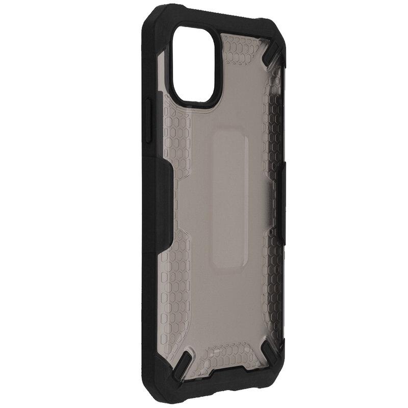 Husa iPhone 11 Mobster Decoil Series - Negru