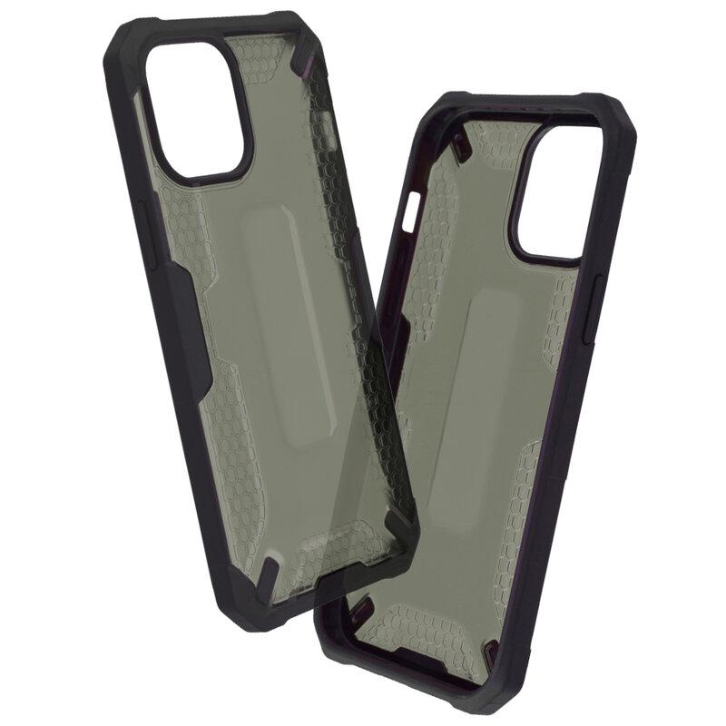 Husa iPhone 12 Pro Max Mobster Decoil Series - Negru
