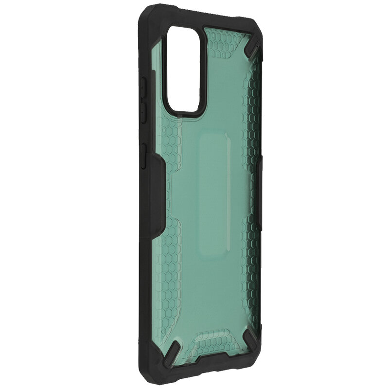 Husa Samsung Galaxy S20 Plus 5G Mobster Decoil Series - Verde Inchis