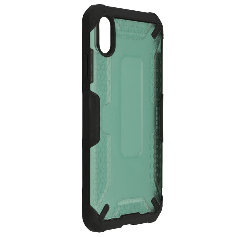 Husa iPhone XS Max Mobster Decoil Series - Verde Inchis