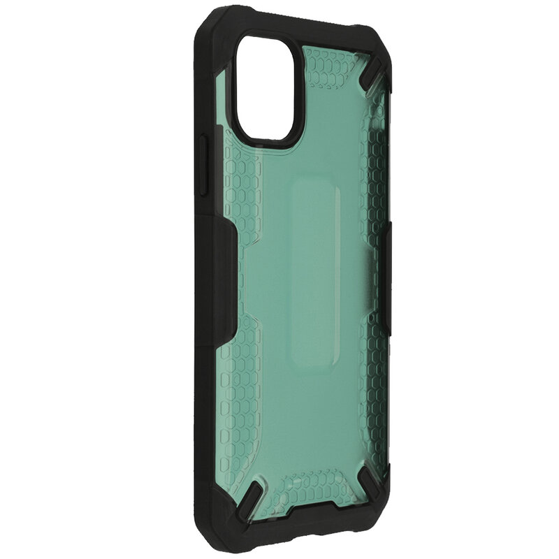 Husa iPhone 11 Mobster Decoil Series - Verde Inchis