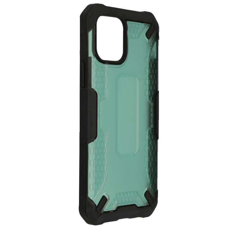 Husa iPhone 11 Pro Mobster Decoil Series - Verde Inchis