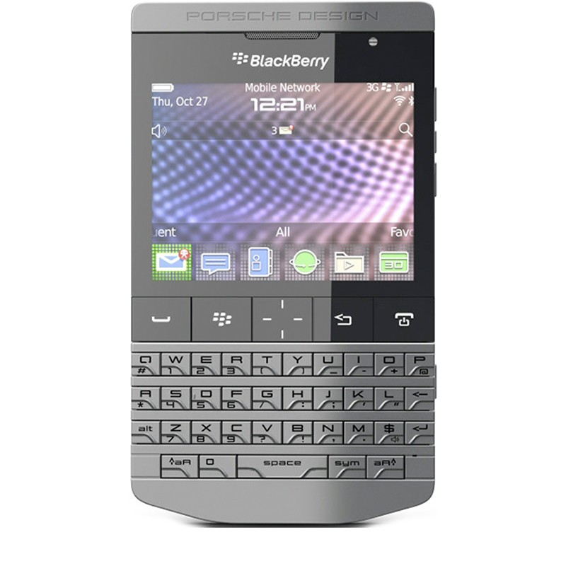 Folie Protectie Ecran BlackBerry Porsche Design - Clear