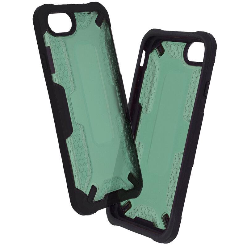 Husa iPhone SE 2, SE 2020 Mobster Decoil Series - Verde Inchis