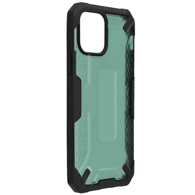 Husa iPhone 12 Mobster Decoil Series - Verde Inchis