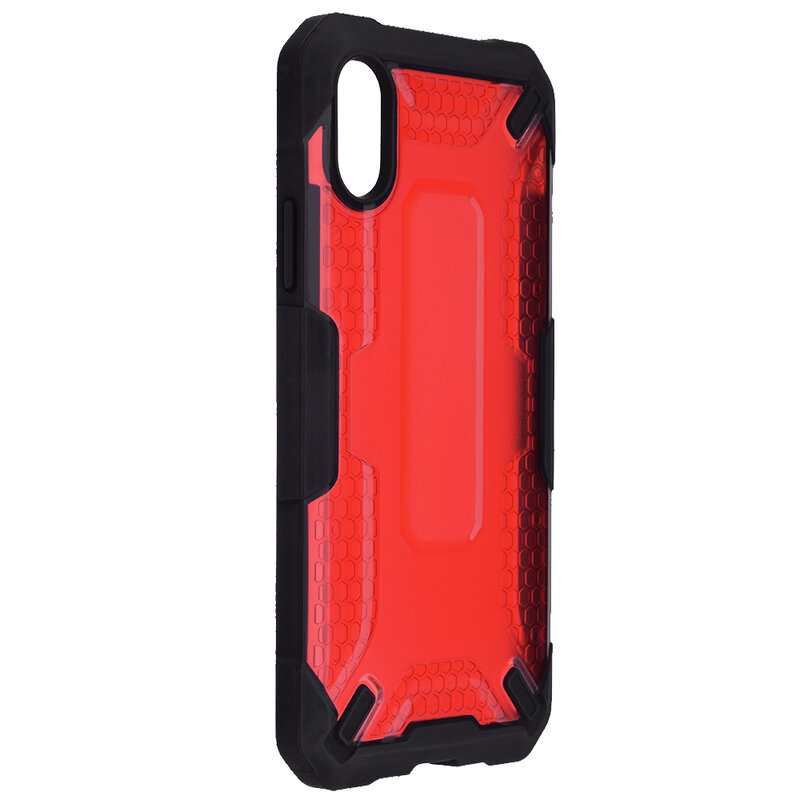 Husa iPhone XS Mobster Decoil Series - Rosu