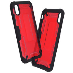 Husa iPhone XS Max Mobster Decoil Series - Rosu