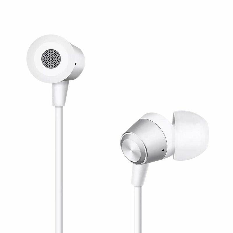Casti In-Ear Originale OPPO MH130 Stereo Cu Jack 3.5mm Si Microfon - Bulk - Alb