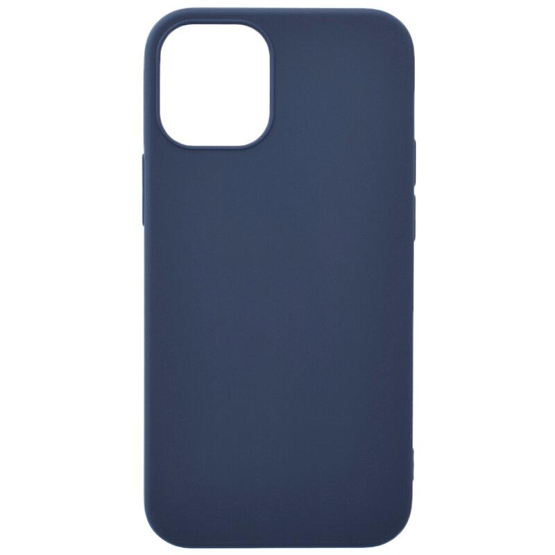 Husa iPhone 12 mini Soft TPU - Albastru