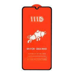 Folie Sticla Samsung Galaxy A21 Mobster 111D Full Glue Full Cover 9H - Negru