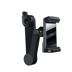 Suport Auto Cu Incarcare Wireless Telefon Baseus Cu Prindere Pe Tetiera 15W - WXHZ-01 - Negru
