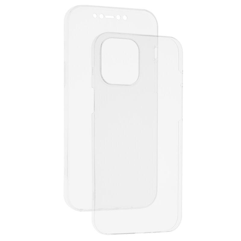 Husa iPhone 12 Pro Max TPU UltraSlim 360 Transparent