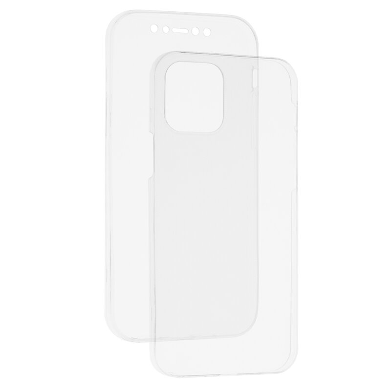 Husa iPhone 12 Pro TPU UltraSlim 360 Transparent
