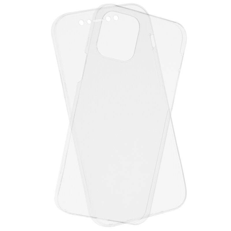 Husa iPhone 12 TPU UltraSlim 360 Transparent