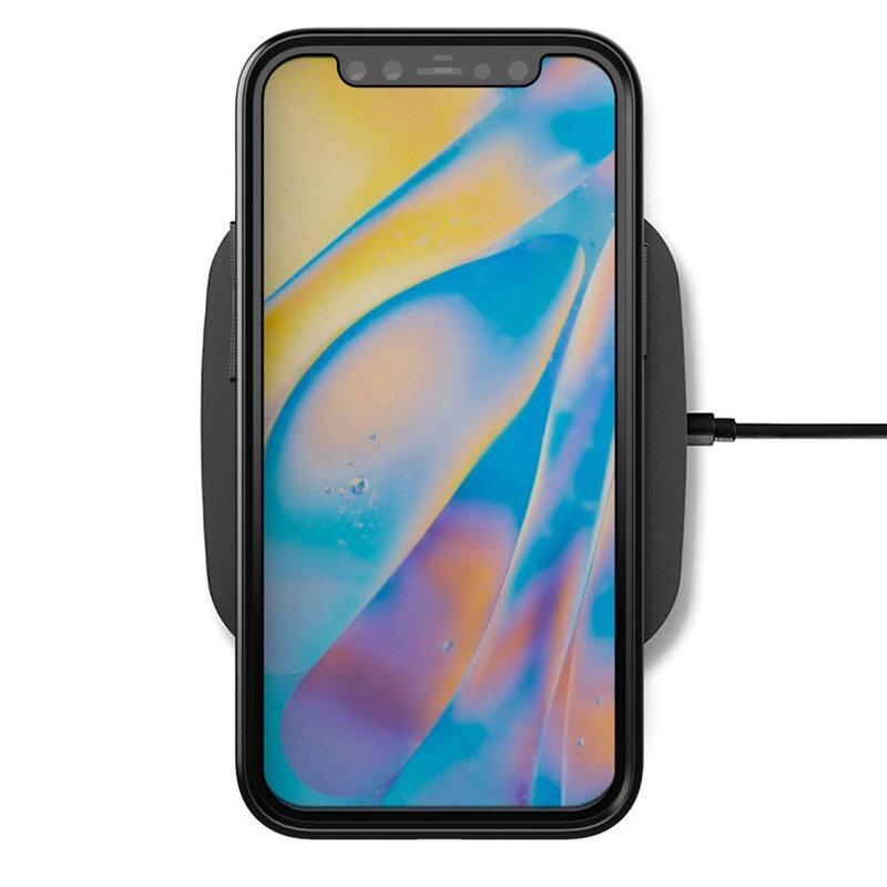 Husa iPhone 12 Thunder Flexible Tough TPU - Albastru