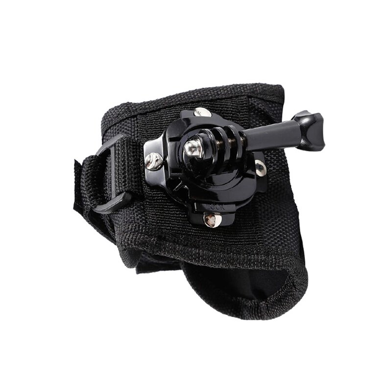 Manusa GoPro Universala Cu Prindere Pentru Camere De Actiune Si Rotire 360° - Negru