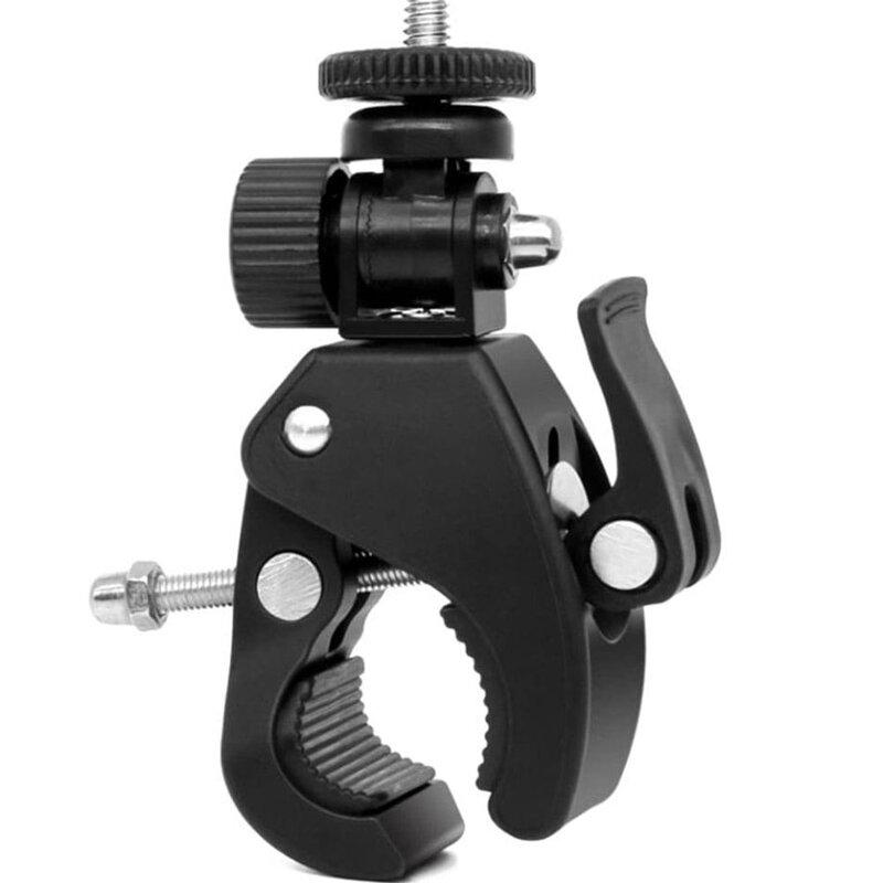 Suport Bicicleta GoPro / Camere De Actiune Cu Sistem De Prindere Pentru Ghidon - Negru